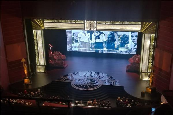 صور| انطلاق حفل افتتاح «القاهرة السينمائي» بفيلم تسجيلي عن يوسف شريف رزق الله