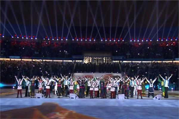 شاهد| استعراض «من أرض مصر» باحتفالية القبائل العربية