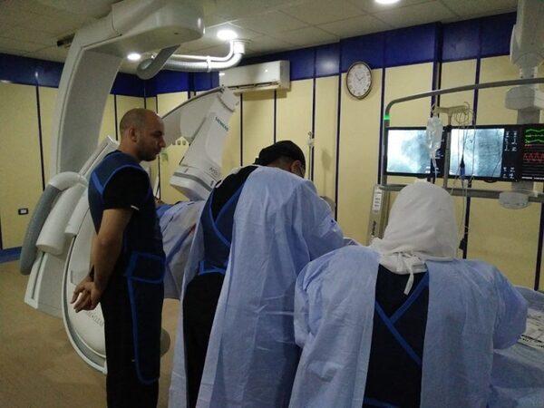 صحة الشرقية تنهي قوائم الإنتظار بإجراء ٦ حالات قسطرة قلبية